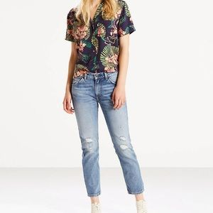 Levi's 505 Cropped Jeans Size 26